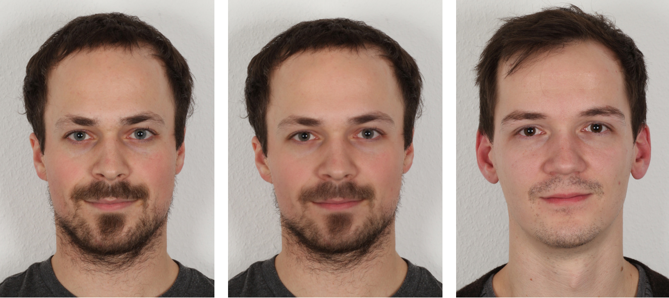 Detection of Face Morphing Attacks — Visual Computing
