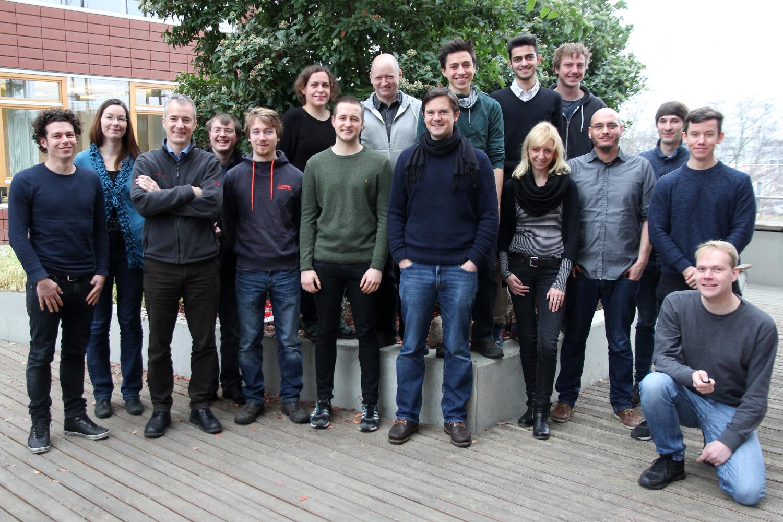 Die Mitarbeiterinnen und Mitarbeiter unseres Lehrstuhls, Januar 2016
